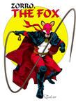 Public domain character FOX by SashScott