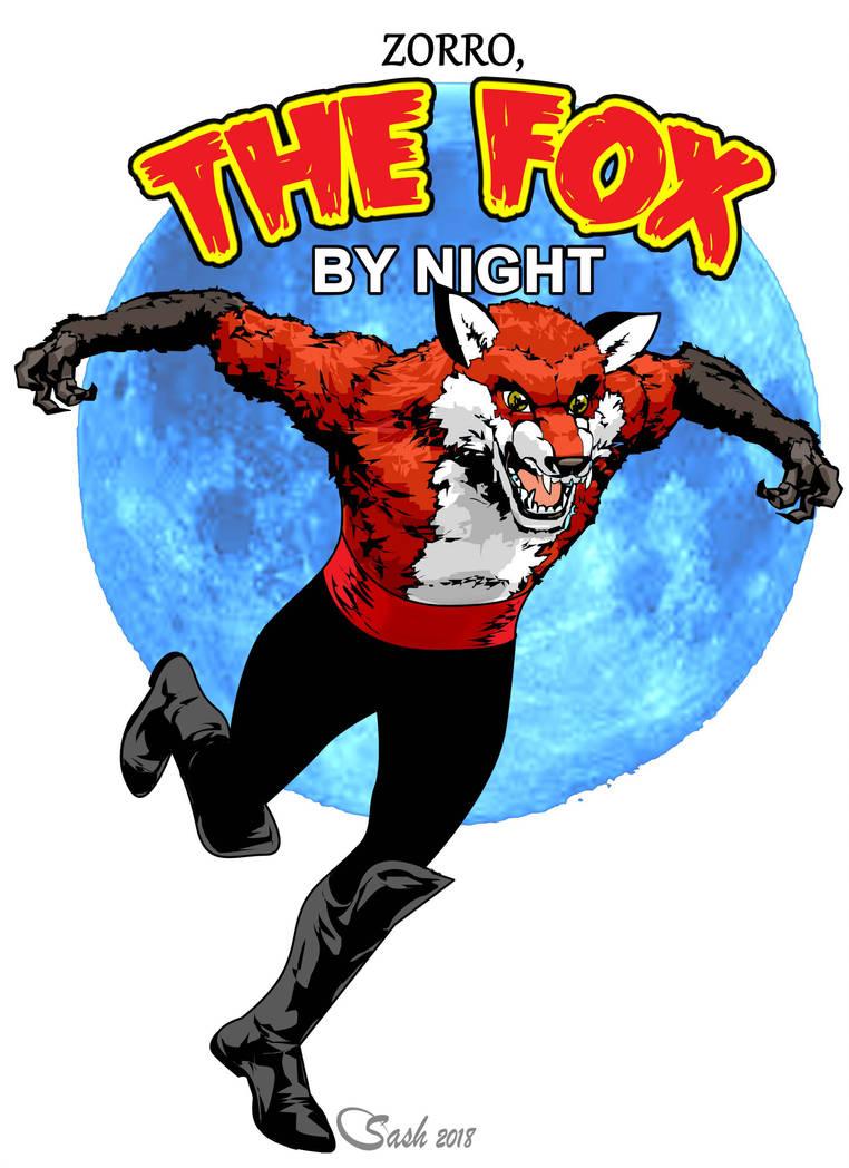 Public domain character FOX2 by SashScott