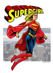 Supergirl49 by SashScott