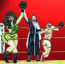 FRANCISCO NEVADO Artwork 426 by Boxeo-Girls