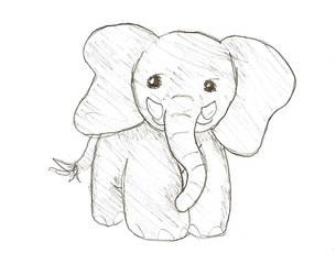 Elephant by ChiuuChiuu