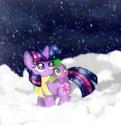 First Snow by ChiuuChiuu