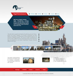 web design Regal Petrochemical by mirzaie
