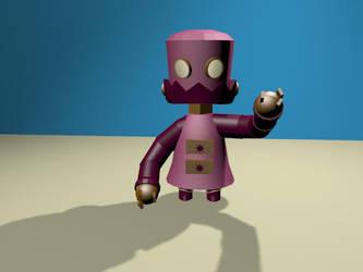 Zimvader Robot by MooreCreativity