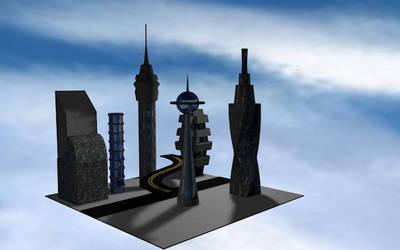 Future City by MooreCreativity