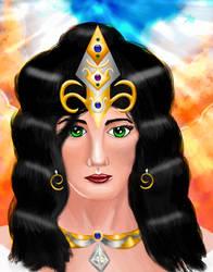 Sophia the Greek Goddess of Wisdom by MooreCreativity