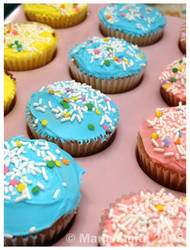 Bake Sale Cupcakes by chat-noir