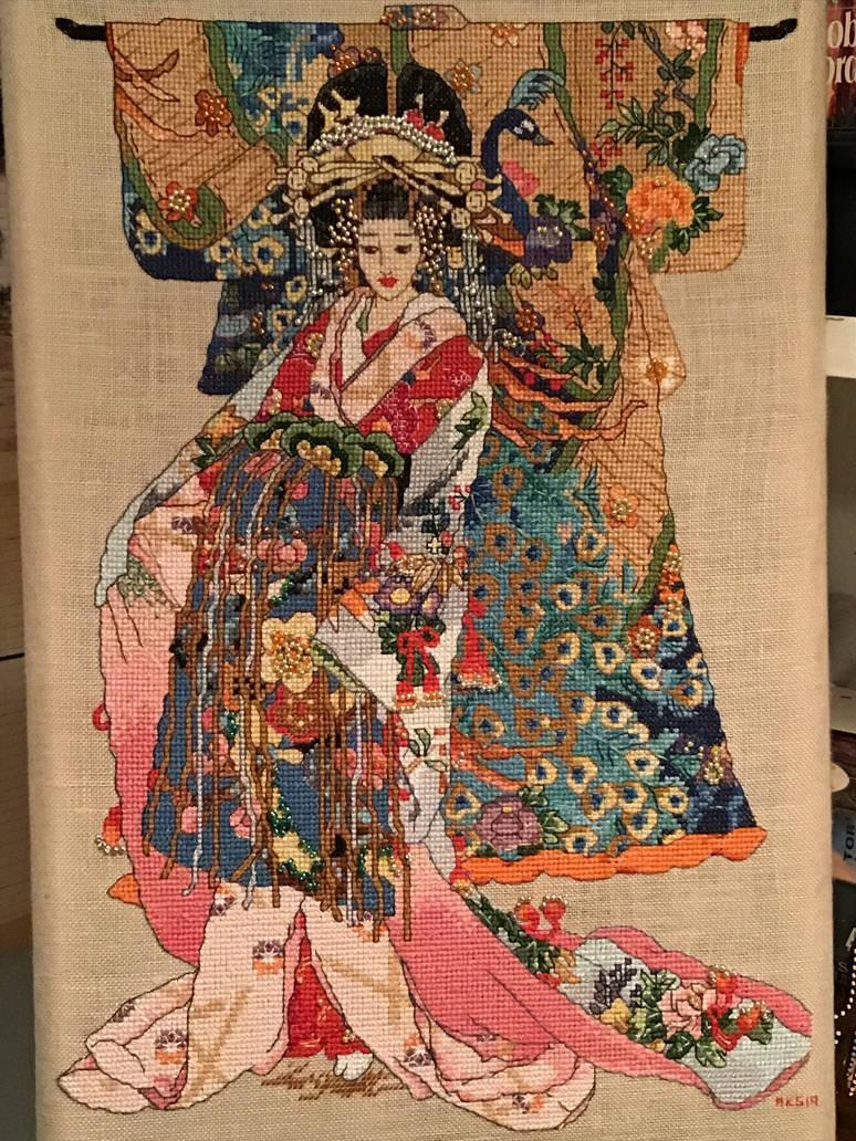 Kimono Geisha by Thiendrah