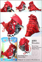 Bell-plush--Groudon by RadiantGlyph