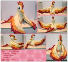 Molty - Moltres Plush by RadiantGlyph