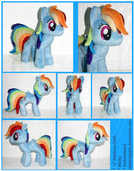 Plush - Rainbow Dash by RadiantGlyph