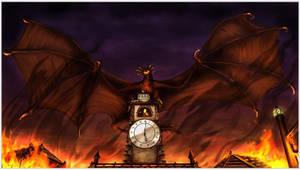 +Vexus on the Clocktower+ by RadiantGlyph