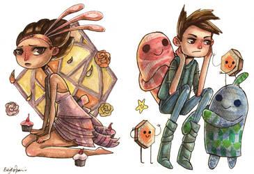 Vella and Shay by maxyvert