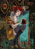 Red and Transistor by maxyvert