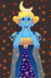 Moon goddess by maxyvert