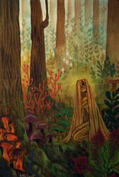 Folktale week Forest by maxyvert
