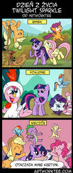 Dzien z zycia Twilight Sparkle by Lyokoheros