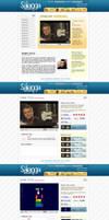 Entertainment website by UniDesignStudio