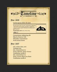 Timeline by UniDesignStudio