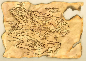 Madgrab McGraw's Map by Tua