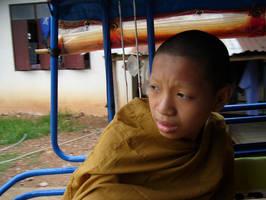 portrait of a novice monk. 1 by Tua
