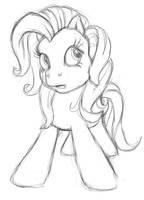 G3 pony sketch by ColossalStinker