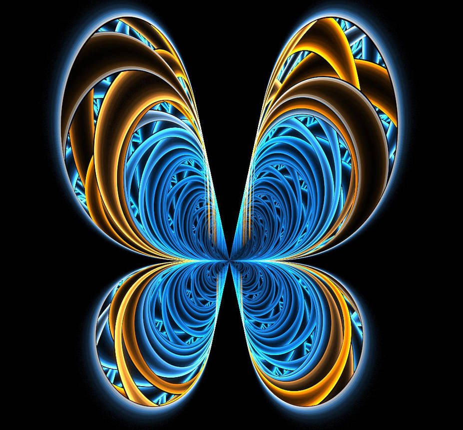 Blue Morpho by frdmlong