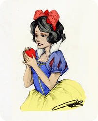 Snow White by eromenos by AppreciatesArt