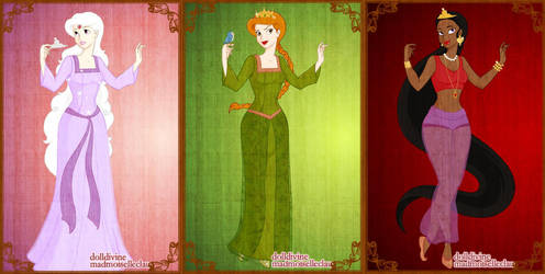 Amalthea, Fiona + Yum-Yum by AppreciatesArt