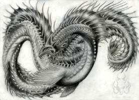 Lantern serpent by Sakalah