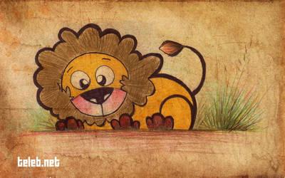 mini lion by ahmedtelb