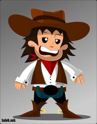 Cowboy by ahmedtelb