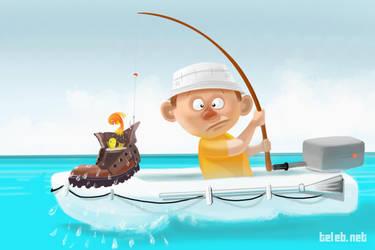 fisherman by ahmedtelb