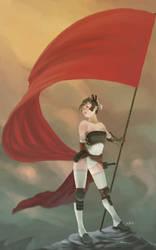 Flag Bearer by LEKKER