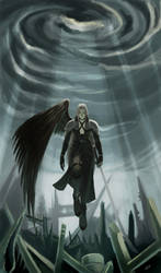 Advent : One-Winged Angel by LEKKER
