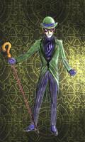 The Riddler Steampunk redesign by Nox-dl