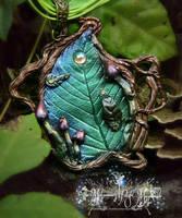 mini Fairy Door necklace pendant 2 by EMasqueradeGallery