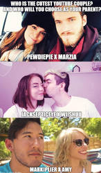 Who is the cutest youtube couple? by Prince-riley