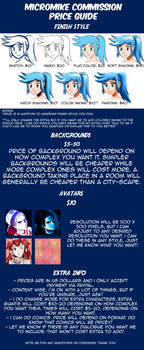 Commission Price Guide - Version 3 by Micro-Mike
