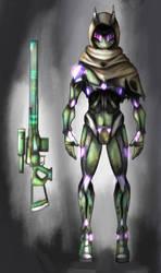 Chameleon sniper concept by grey342