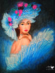Blue Lady by ladyjuna