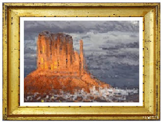 High Tide Monument Valley by jimdwyrick
