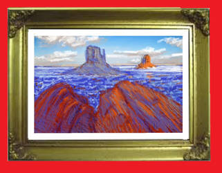 Quick Study Monument Valley by jimdwyrick