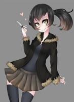 Izaya girl by NezhieI