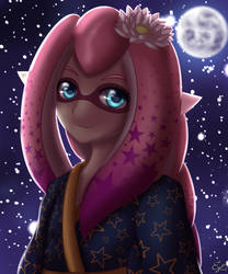 BG: Starry Squid by poolvosje
