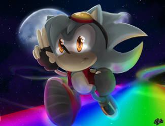 GIFT Rainbow run by poolvosje