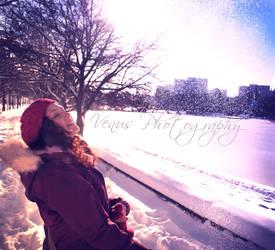 Nieve cayendo by XochitlCumanda