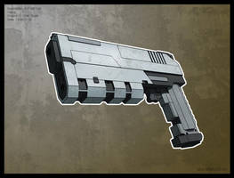 X-Com Classic Gun by PredatoryApe