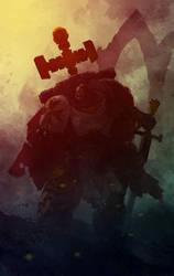 Black Templar by PredatoryApe