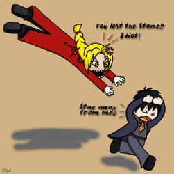 FMA-Harry Potter meets by famel